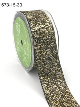gold metallic snake skin ribbon