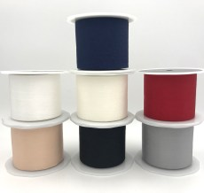 faux silk wrinkled nylon ribbon
