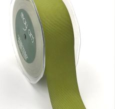 olive green canvas linen ribbon