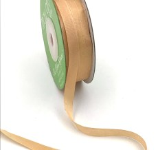 Hazlenut Tan Hand Dyed Silk Ribbon