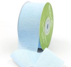 light blue silk rayon ribbon