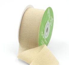 taupe silk rayon ribbon