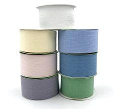 crinkle chiffon wedding ribbons