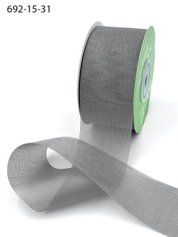 gray iridescent organza ribbons