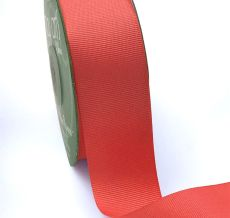 1.5 Inch Light-Weight Flat Grosgrain Ribbon with Woven Edge - GN-15-13 CORAL