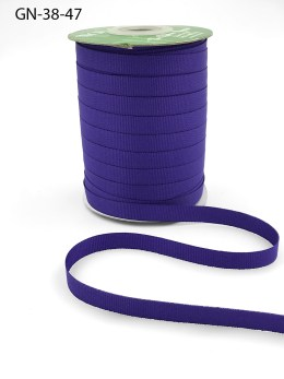 ~3/8 Inch Light-Weight Flat Grosgrain Ribbon with Woven Edge - GN-38-47 Purple