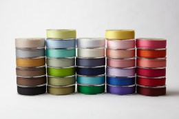 3/4 Inch Classic Grosgrain Ribbon with Woven Edge 1