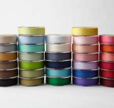 3/4 Inch Classic Grosgrain Ribbon with Woven Edge