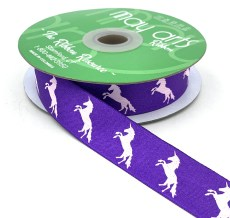 Violet Unicorn Ribbon