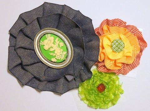DIY No Sew Ribbon Flowers - Wholesale Ribbon - May Arts Ribbon