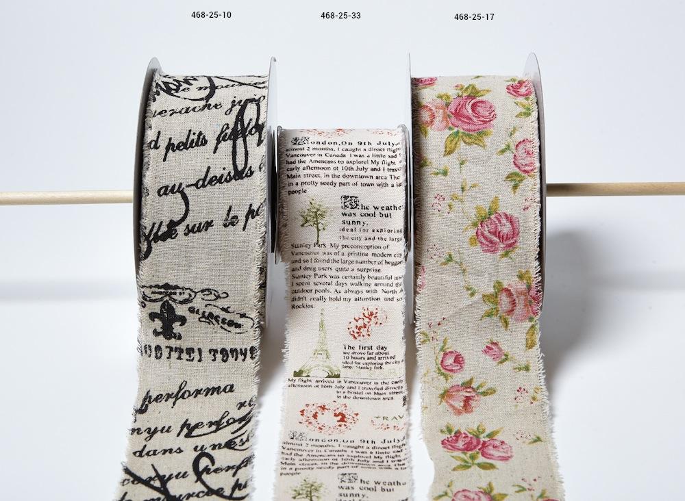 Vintage Inspired Printed Cotton Blend