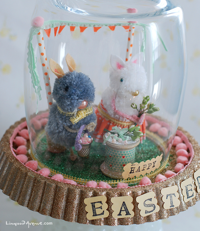 Easter Bunny Party Scene
