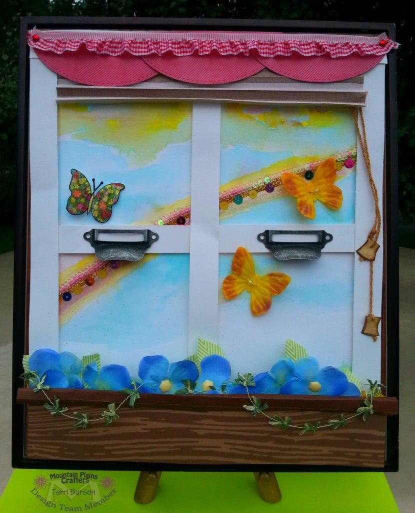 Framed Kitchen Window