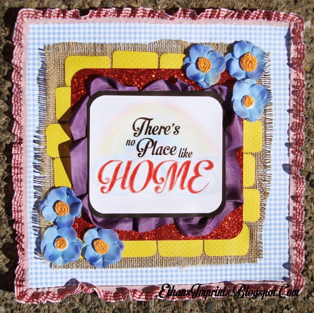"""""""There's No Place Like Home"""" Wall Decor"""