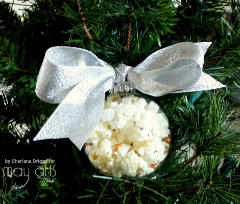 Popcorn Christmas Ornament