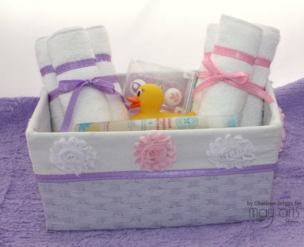 Thrifty Gifting: Baby Basket