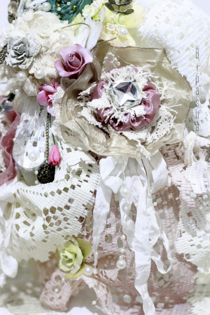 Dress Form: Shabby Chic Wedding Gow