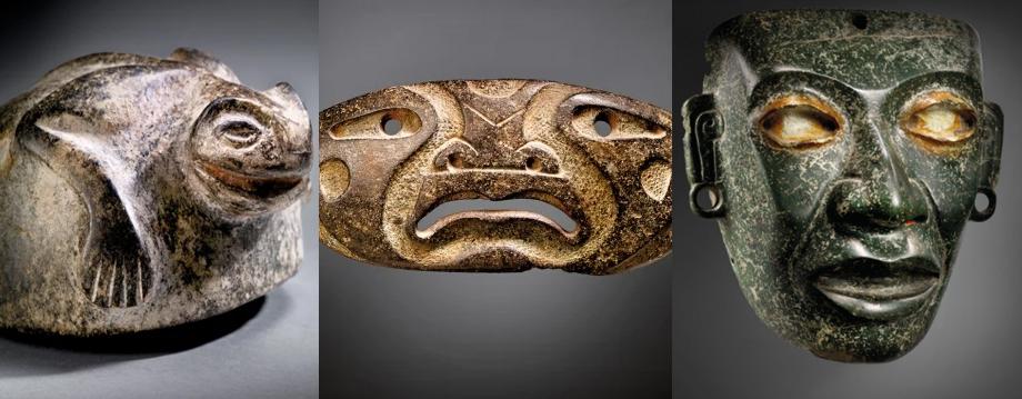 piezas falsas en subasta de arte prehispánico