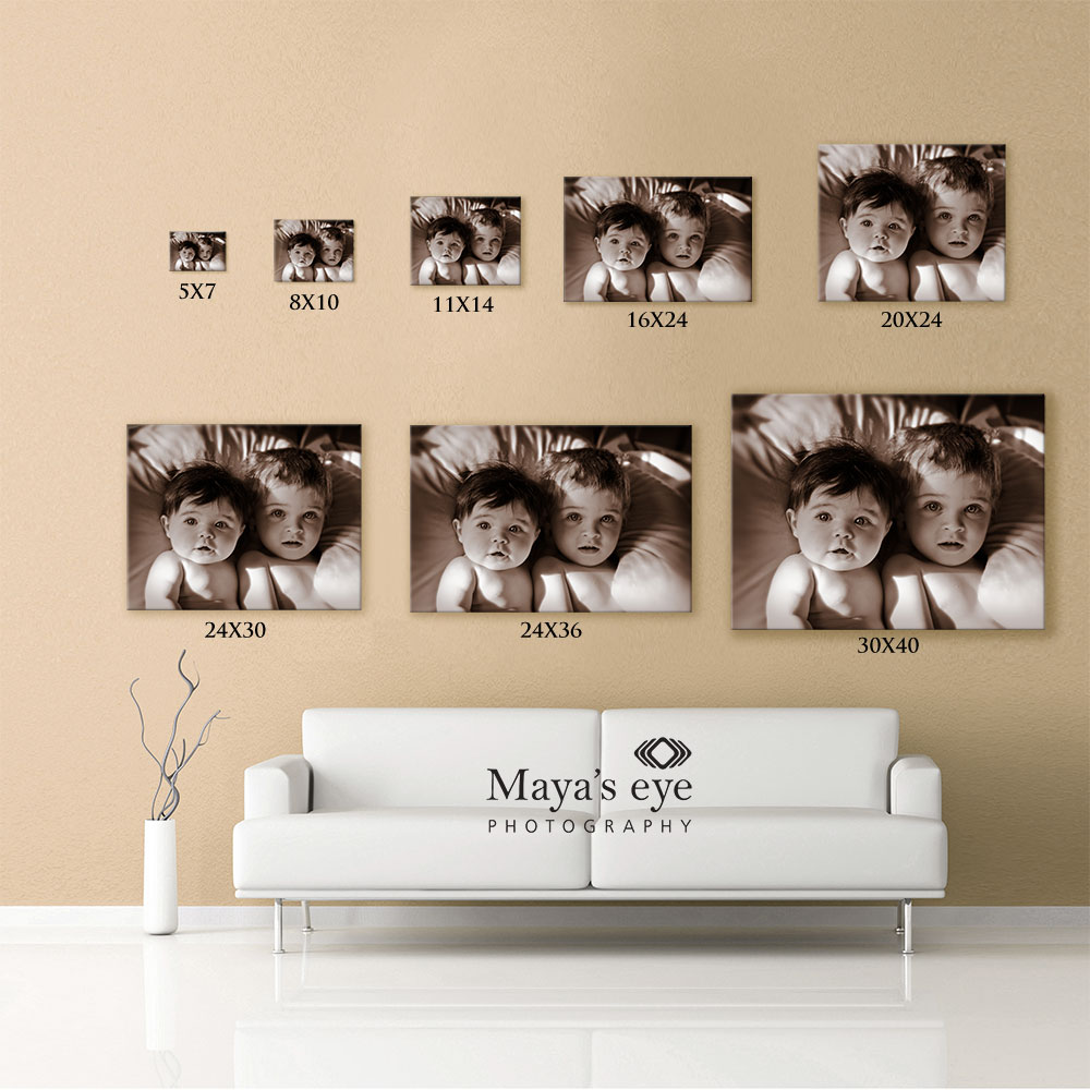 Why Its Important To Match Print Sizes To Your Wall Space