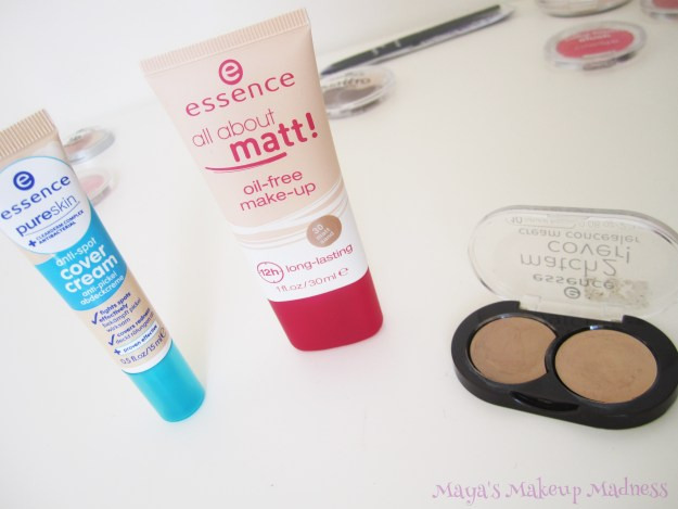 Anti-spot Cover Cream, All About Matt Foundation (30 Matt Sand), Match 2 Cover (10 Natural Beige)[LtR]
