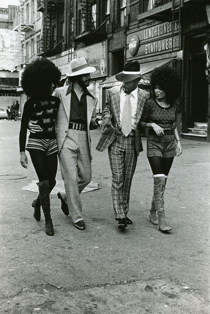 Anthony Barboza, Harlem Series, Couples, c.1970s