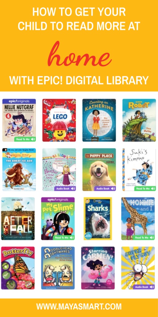 How To Get Your Child To Read More At Home With Epic Digital Library