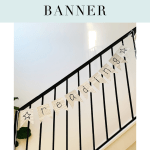 DIY Book Craft Book Page Banner