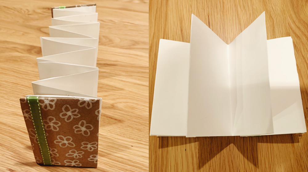DIY Accordion Book Craft