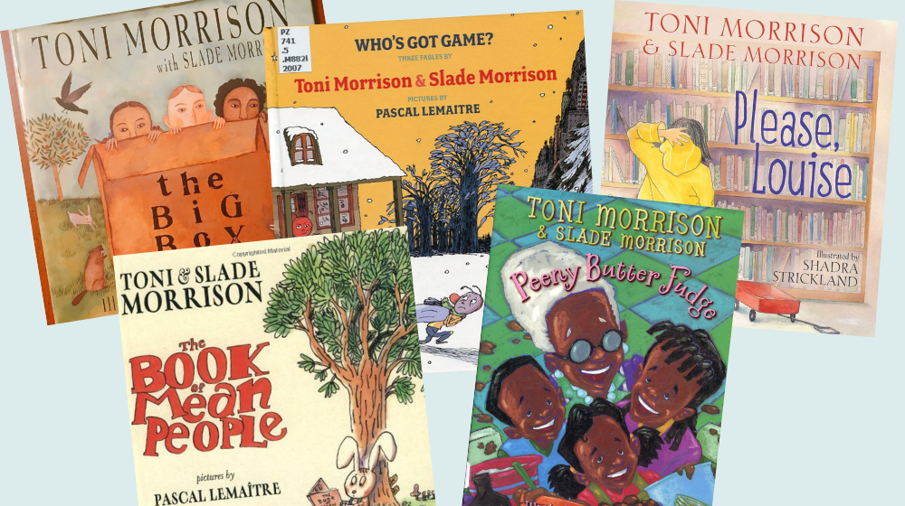 8 Brilliant Picture Books by Toni Morrison to Read Aloud with Kids
