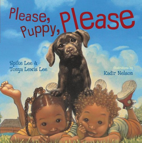Please, Puppy, Please by Tonya Lewis Lee book cover