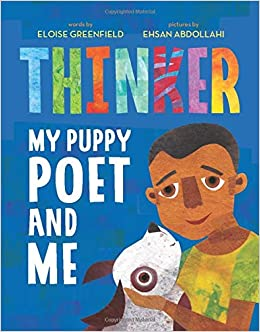 Thinker My Puppy Poet and Me by Eloise Greenfield book cover