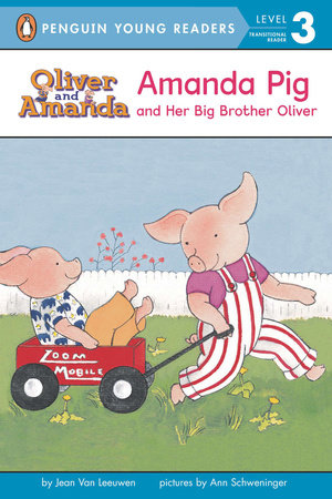 Amanda Pig and Her Big Brother Oliver by Jean Van Leeuwen book cover