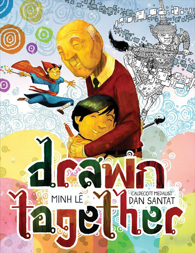 Drawn Together by Minh Lê book cover