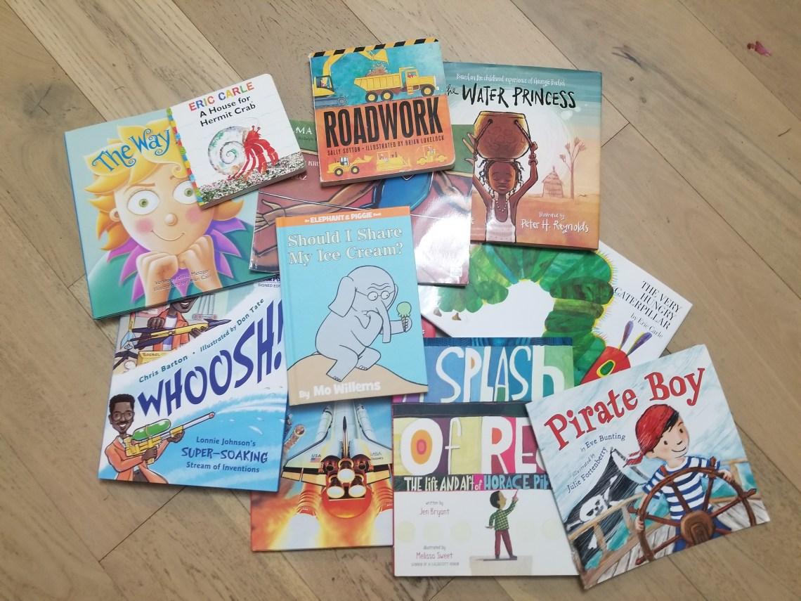 pile of children's picture books