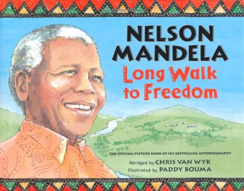 Long Walk to Freedom by Nelson Mandela book cover