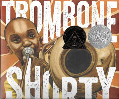 Trombone Shorty by Troy Andrews book cover