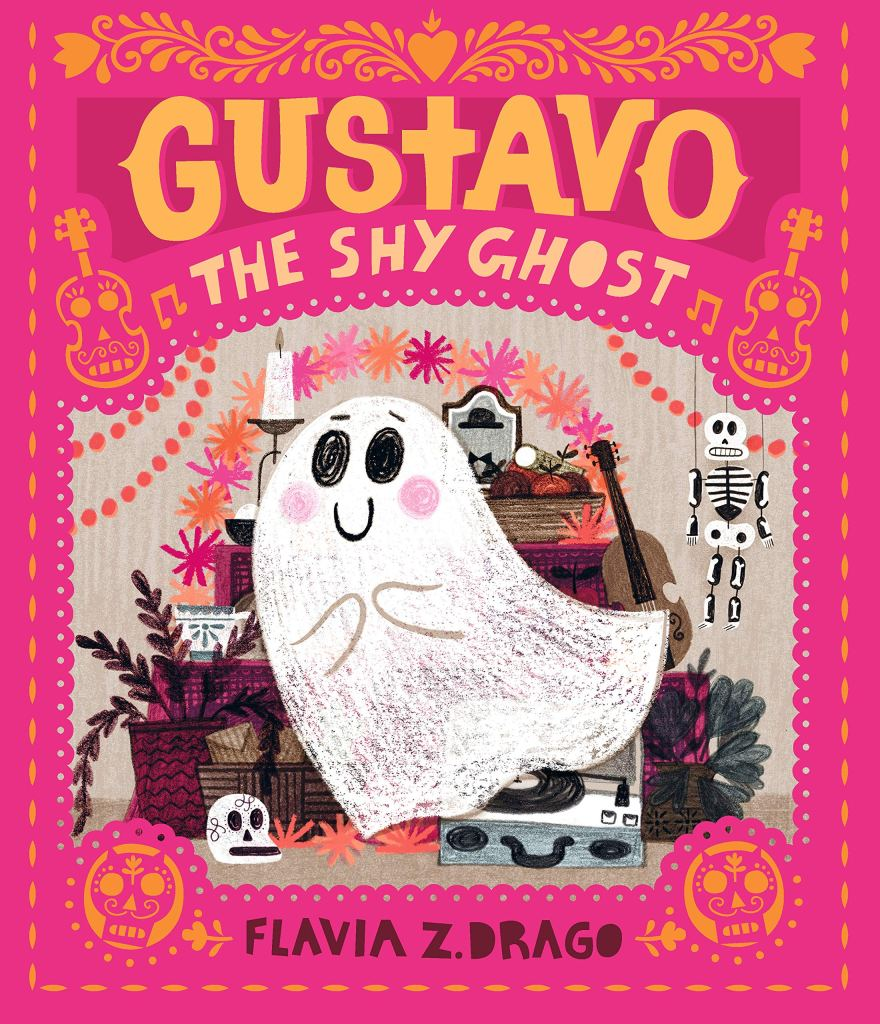 Gustavo the Shy Ghost by Flavia Z. Drago book cover