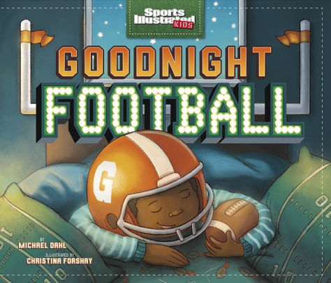 Goodnight Football picture book cover