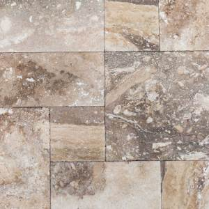 Conglomerate Antique Pattern Travertine Tiles