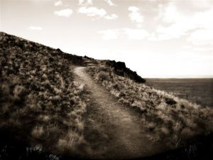 Path to Doney Mountain