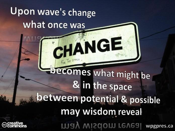 Wave's Change