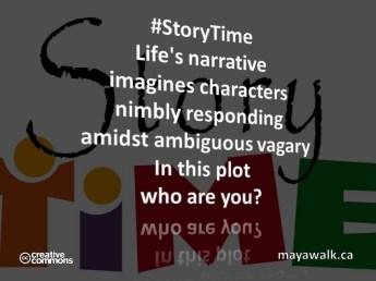 #StoryTime