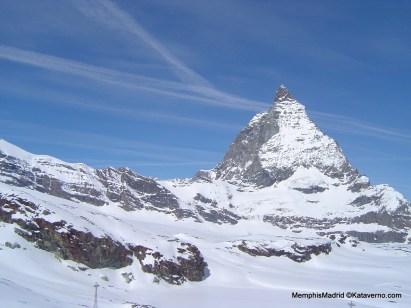 Matterhorn visto desde el Breithorn Foto Memphismadrid