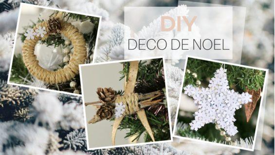 DIY déco pour l'arbre de Noël
