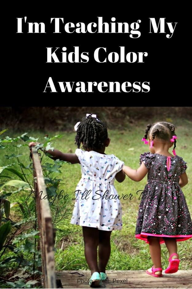 I'm Teaching My Kids Color Awareness