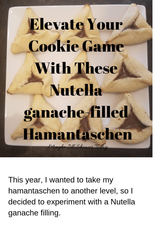 Elevate your cookie game with these chocolaty hamantaschen