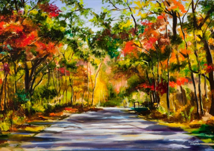 Michigan Trail by Carrie Goldman.