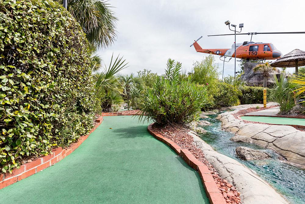 north myrtle beach mini golf course
