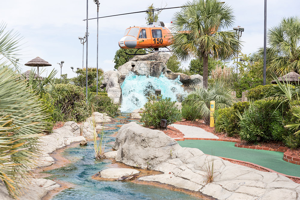 miniature golf course in north myrtle beach