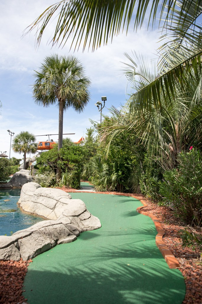 miniature golf course in south carolina